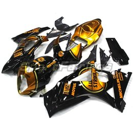 Fairings For Suzuki GSXR1000 GSX-R 1000 K7 07 08 Year 2007 2008 Injection ABS Motorcycle Motorbike Fairing Kit Black Gold New