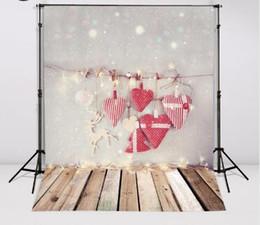 2017 fondos de verano Kate fondo fotográfico Navidad amor nieve punto backdrops niños de la boda de vinilo de verano 150cm * 200cm descuento fondos de verano
