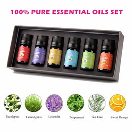 Wholesale LAVEN Pure Essential Oils ML Top Bottles Best Buy Gift Set Therapeutic Grade Essential Oils for Bath Massage Spa Aromatherapy