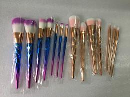 2017 Nouveau pinceaux de maquillage Set 7pcs Vander Multipurpose Kabuki Blusher Spiral Brushes Holder Beauté Valentin pinceaux à partir de brosses 7pcs fournisseurs
