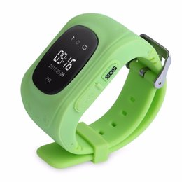 Wholesale Baby GPS Watch Q50 Smart Watch Support SIM Voice Chatting Q50 Smartwatch Electronic Fence SOS for Help pedometer History D Map