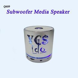 Acheter en ligne Boîte de haut-parleur de radio-Originalité Lumière creuse Haut-parleur Bluetooth Haut-parleur sans fil lourd Radio FM Boîte à lumière LED TF Card