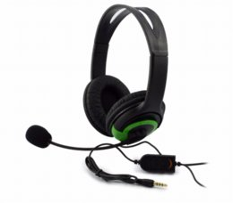 Promotion casque stéréo xbox 3.5mm Plug Wired Gaming Stéréo Headset écouteurs avec microphone / contrôle vocal pour Sony PlayStation4 PS4 XBOX ONE