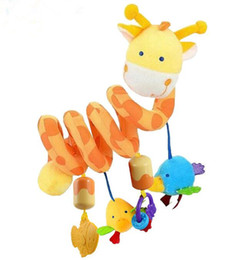 Wholesale 2017 New multifunctional Rattle Ring Bell toy Infant baby hanging Around The Bed Stroller newborn Baby Car Lathe Hanging Rattles Mobile