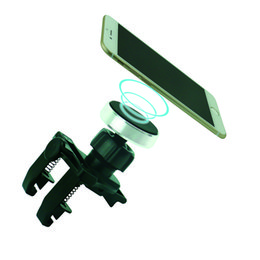 Universal Air Vent Magnetic Car Mount Holder with Fast Swift-Snap Technology for Smartphones and Mini Tablets
