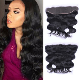 Peruvian Remy Body Wave Lace Frontal 13*4 Ear To Ear Free Part 130% Density Lace Closure None Remy Human Hair Dyeable Free Shipping