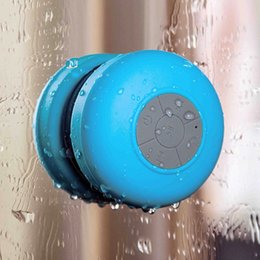 New Portable Waterproof Wireless Mini Multicolor Bluetooth Speakers Shower Handsfree Call Music Suction Mic For iphone cellphone smartphone