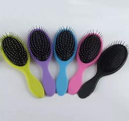 Wholesale Hot Wet Dry Hair Brush Original Detangler Hair Brush Massage Comb With Airbags Combs For Wet Hair Shower Brush