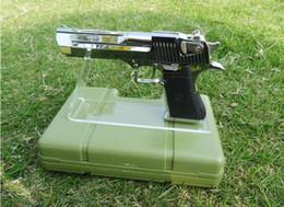 Pistolet acrylique se à vendre-50pcs magasin de boutique shippiing gratuit clair acrylique pistolets à l'extérieur affichage titulaire arme modèle montrant stand stand d'affichage d'armes