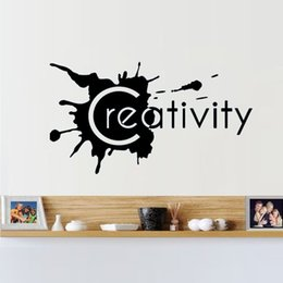 Hot Sale Creative Wall Lettering Stickers Word Stickers Bedroom Living Room Decorative Murals Vinyl Art Creative Stickers