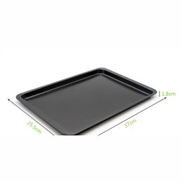 Wholesale Nonstick Bakeware Baking and Cookie Pan Natural Aluminum Commercial Baker s Half Sheet Non Stick Cookie Sheet Nonstick Bakeware Baking Pan