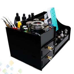 Wholesale Demon Killer Storage Box Newest Ecig Display Showcase Stand Shelf Holder For Electronic Cigarette RDA Bottles Mods DHL Free