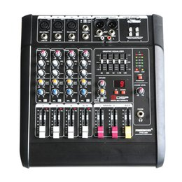 Wholesale Freeboss PT5 USB Mono Channels DSP Effects W Professional USB Powered Audio Mixer Console