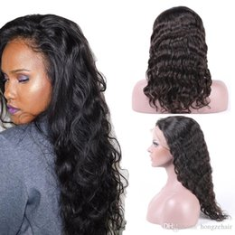 Glueless Full Lace Wig Mongolian Peruvian Virgin Human hair Full Lace Human Hair Wigs For Black Women Best Lace Wig With Baby Hair