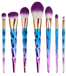 Wholesale Brush kit Professional Vander Cream Power Professional Makeup Brushes Multipurpose Beauty Cosmetic Puff Batch Kabuki Blusher New