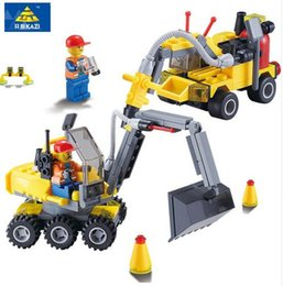 2017 New Style City Construction Excavator Building Block sets Compatible all brand City Toys Brinquedos Educational Bricks Gift