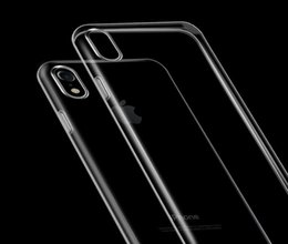 For iphone X 5.8 inch Slim Thin Transparent Soft Cover Case Crystal Clear TPU Gel Skin Back Silicon For iPhone 78 plus Samsung S7 S8