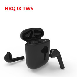 Bluetooth Headphones HBQ I8 vs HBQ I7 TWS Wireless Earphone Twins Mini In-ear Headset for Android Samsung S7 S8 Note 8 iPhone 7 8 X Huawei