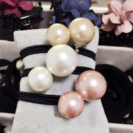Handmade fashion pearl tie Tousheng girls pearl ring FS00119