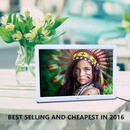 Wholesale Hot quot LED HD High Resolution Digital Picture Photo Frame Remote Controller Best Quality Around The World in