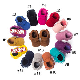 Matte Handmade Tassels Soft Bottom Toddler Shoes Baby Shoes 2016 New Baby Prewalker Baby Moccasins