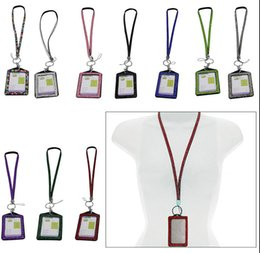 Wholesale new Bling Lanyard Crystal Rhinestone with Claw Clasp ID Badge Holder Best Cheap Price Bling Crystal Rhinestone Hand Strap Lanyard