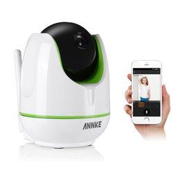 Sécurité facile en Ligne-ANNKE WiFi WiFi 960P Caméra IP WiFi Caméra IP Caméra bidirectionnelle Audio Baby Caméra de sécurité Pan Tilt Easy QR CODE Scan Connect
