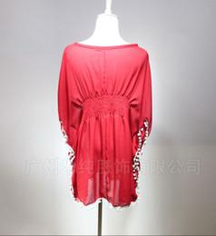 Wholesale News Hot European Best Sell Pass Bohemia Resort Beach Dress Smock Outside Big Yards Dress Veil Skirt