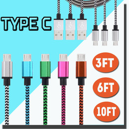 Wholesale 1M M M Micro USB Cable Colorful V8 Data Cable FT M M FT M FT For Type C Cable For New Macbook