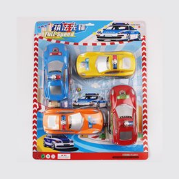 Wholesale Children s toy car police car models scooter toys mini car pocket toys set