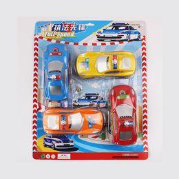 Wholesale Children s toy car police car models scooter toys mini car pocket toys set
