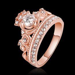 LCL Bijoux en alliage d'étain Zirconia personnalisé Bague plaqué or pour les femmes de charme Bague Zircon Free Wedding Wedding Anel JPR678 à partir de boutiques de charme fournisseurs