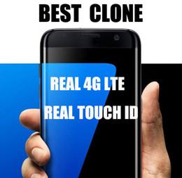 2017 écran tactile google La meilleure version 1: 1 s7 le goon de bord clone le téléphone l'identification réelle de contact 4g réel octe le noyau 5.5inch IPS a courbé l'écran 1920 * 1080 2gb ram 32gb rom 16mp écran tactile google à vendre