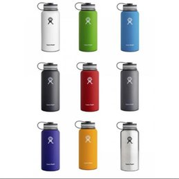Wholesale Hydro Flask oz Vacuum Insulated Water Bottle oz oz Stainless Steel Tumbler OEM Logo Water Bottle cold insulation CUP