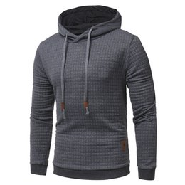 Free Shipping US Size M-3XL High Quality men's autumn and winter fashion jacquard style hoodies sports leisure sets sweater coat