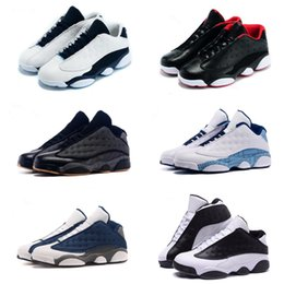 Wholesale New Products Men s Air Retro Low Retro s Basketball Shoes Sneakers Cheap Top Quality XIII shoes White with Box