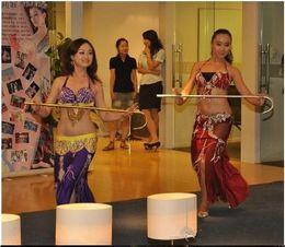 Jazz rosa en Línea-Nueva llegada Adultos Niños Danza de jazz Bailarinas Danza del vientre Bastón de palo Funciones Prendas de vestir oro plata púrpura color rosa rojo