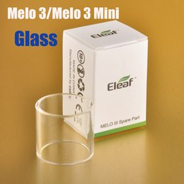 Wholesale Original Eleaf Ismoka Glass Tube for Melo III Mini ml ml Spare Parts Replacement Individually Packed