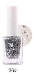 BK 12 Color Stamping Nail Polish Nail Glu Sweet 9ml Fit Me Matte Studio Fix Prissy Princess Foundation Palette Christmas gift