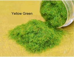 Wholesale The turf grass powder sand pile material surface decoration of green grass scene reconstruction model of grass powder