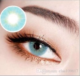 Wholesale With Prescription Aurora Natural Color Eye Contact lenses eye contacts mm yearly use eye makeup