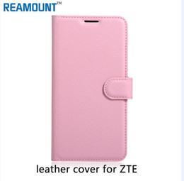 40 pcs High Quality PU Leather Smart Flip Cover Case For ZTE blade A452 A450 A410 Stand Phone Bag Coque Fundas