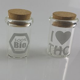 Wholesale Smoking accessories storage jars for hookah water pipe glass pipe keep the contents fresh ml volume