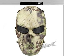 Proteger a paintball en Línea-P54668505 CS Cráneo Esqueleto Full Face Tactical Paintball Proteger Seguridad Terror Máscara Halloween Cosplay Vestido Máscara Jagged horror accesorios
