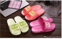 RUBBER flip flops flats bathroom eva antiskid men shoes