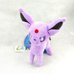 Wholesale Latest Cute Plush Toy Pocket Doll Umbreon Stamding quot Purple Lovely Figures High Quality Plush Dolls for Children Best Birthday Gift