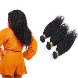 Resika Brazilian Remy Human Hair Weave 3 Bundles Brazilian Virgin Human Hair Bundles Kinky Curly Virgin Human Hair Extensions Dyeable