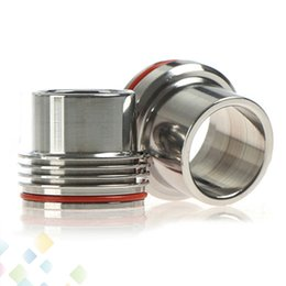 Stainless Steel Tobh Atty Drip Tips Big chief chuff Top Cap fit for 28.5mm Tobh Atty RDA atomizer Stillare Atty DHL Free