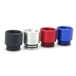 Hot Selling TFV8 Epoxy Design Drip Pointe Antichauffage 510 Dripper 12.5mm Diamètre Chuff Cap pour Cleito Aluminium TFV8 Drip Tip pour TFV8 TFV12 à partir de époxy aluminium fournisseurs