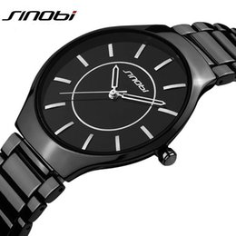Wholesale Sinobi Male Watch - Luxury Top Brand Men's Boy Military Dress JAPAN Quartz Steel Watches Men Casual Clock Male Wristwatch Relogio Masculino SINOBI